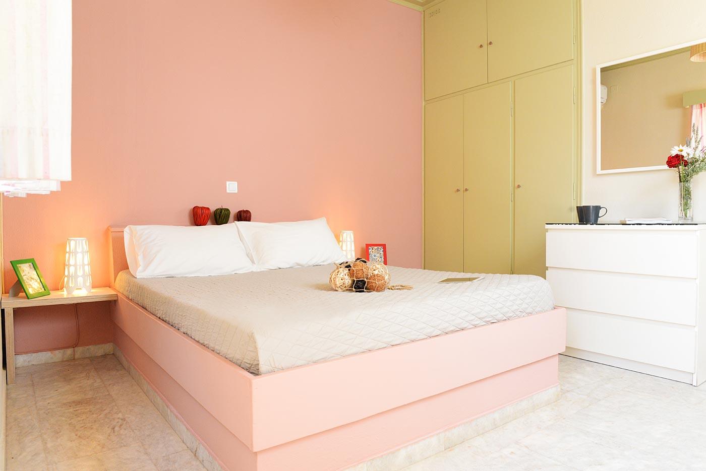 Υπνοδωμάτιο, κρεβάτι
